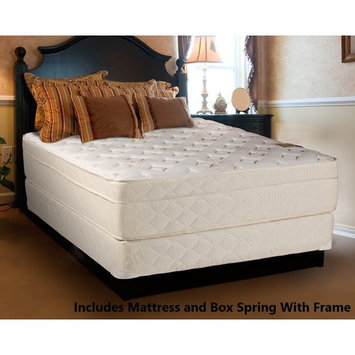 Continental Sleep, 13-inch Fully Assembled Innerspring Firm Mattress and 8