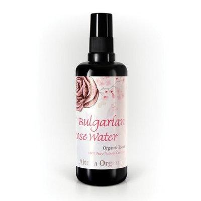 Bulgarian Rose Water Organic Toner - USDA Organic, From Alteya's Distillery, Skin Care Grade, Special Thermal-Distilled