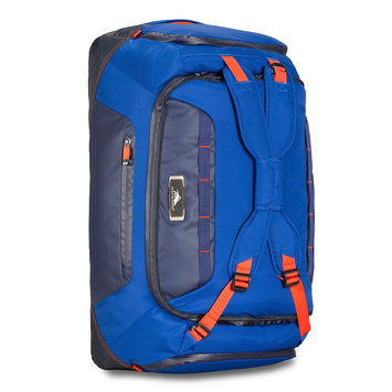 High Sierra AT8 26-in Duffel Backpack - Sapphire / Red Line / True Navy AT8 26-in Duffel Backpack