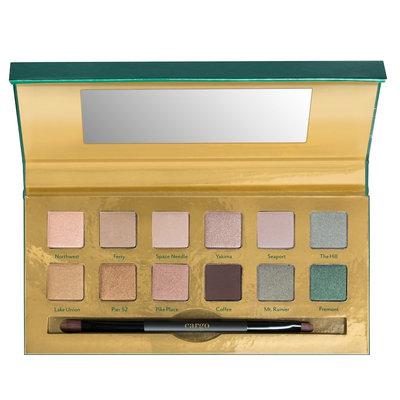 CARGO Emerald City Eyeshadow Palette - Limited Edition, Multicolor