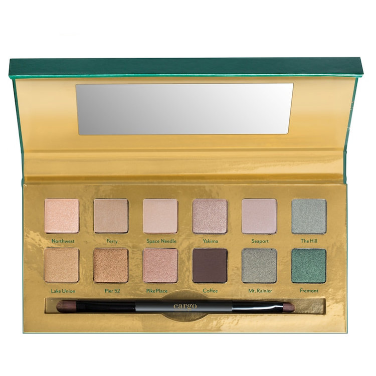 CARGO Emerald City Eyeshadow Palette - Limited Edition, Multicolor
