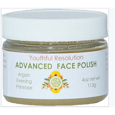 Face Polish Advanced Primrose & Cranberry Wrinkle Relief By Trillium 2 Oz Jar
