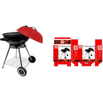 Imperial Home 2269466 22 in. Steel Kettle BBQ