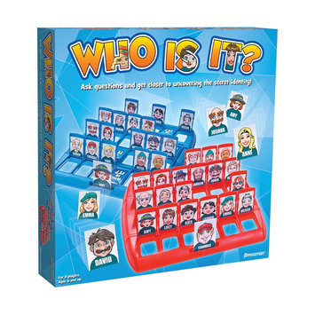 Pressman Toys PRE170206 Who Is It Game for 2 Players