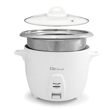 Elite Platinum 10-Cup Rice Cooker, White