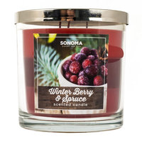 SONOMA Goods for Life™ 14-oz. Winter Berry & Spruce Candle Jar, Multicolor
