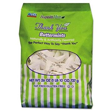 Hospitality Mints Thank You Butter Mints, 26 Ounce