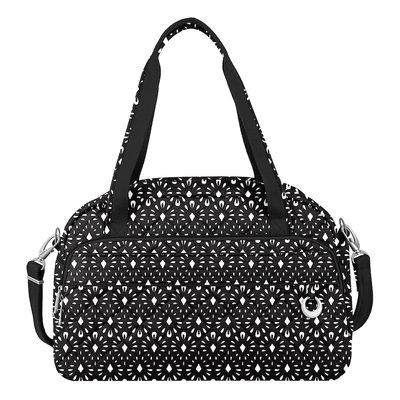 Travelon Anti-Theft Boho Weekender Geo Shell/Plum Interior - Travelon Luggage Totes and Satchels
