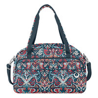 Travelon Anti-Theft Boho Weekender Summer Paisley/Deep Turquoise Interior - Travelon Luggage Totes and Satchels