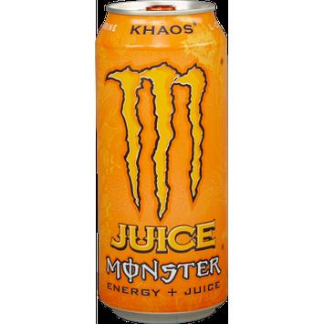 Juice Monster Energy, Khaos, 16 Fl Oz, 24 Count