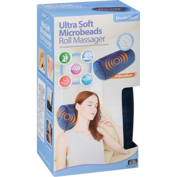 Leader Light Limited Health Touch Ultra Soft Microbeads Roll Massager, Blue