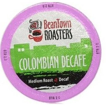 50 Count Decaf Colombian Beantown Roasters, Single-serve Coffee for Keurig K-cup Brewers