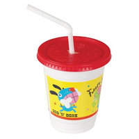 Solo Cup Company Plastic Kids' 12-oz. Critters Cup Combo Pack, 250 Cups (SCC CC12C-J5146)