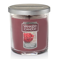 Yankee Candle Cranberry Chutney 7-oz. Candle Jar, Dark Red