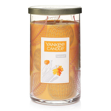Yankee Candle Harvest 12-oz. Candle Jar, Dark Red