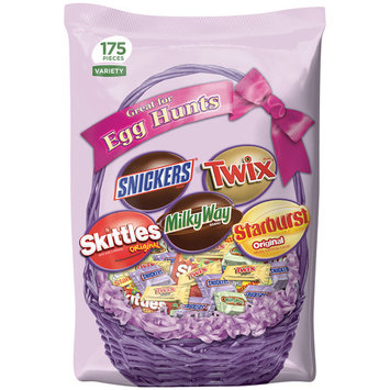 Mars Chocolate, Easter Candy Bars Variety Mix, 60.21 Oz, 175 Ct