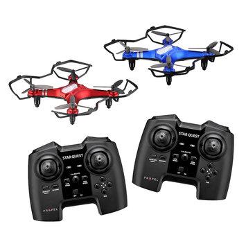 Propel Star Quest Laser Battling Indoor / Outdoor High-Performance Drone (2-Pack), Multicolor
