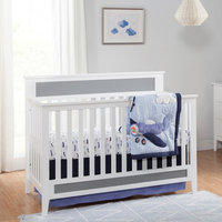 Davinci Standard Full-sized Crib White Gray, White/Gray