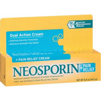 Neosporin Plus Pain Relief Max Cream, .5 OZ (Pack of 6)