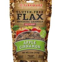 Flax4Life Gluten-Free Flax Snacking Granola Apple Cinnamon 11 oz