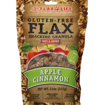 Flax4Life Gluten-Free Flax Snacking Granola Apple Cinnamon 11 oz