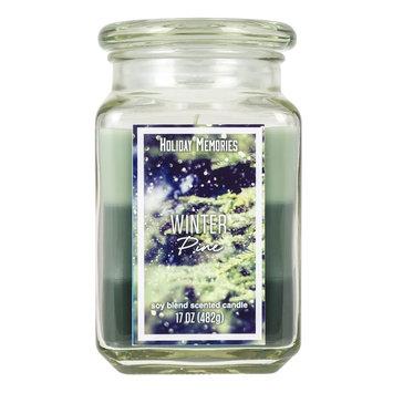 Winter Pine 17-oz. Tri-Pour Candle Jar, Multicolor