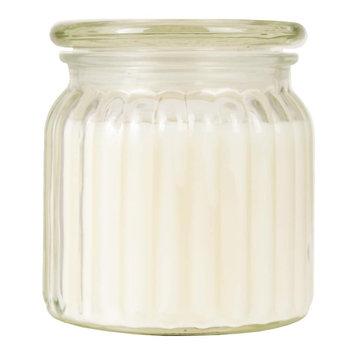 Sparking Snowflake 13-oz. Candle Jar, White