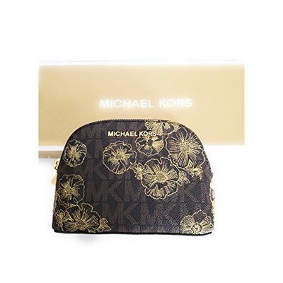 Michael kors large travel make up pouch