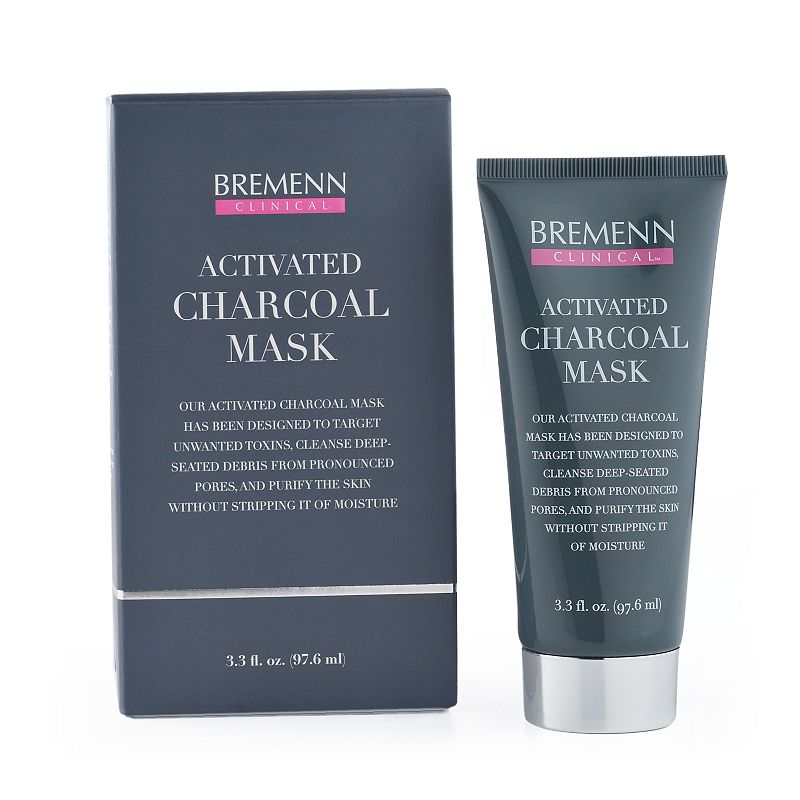 Bremenn Clinical Charcoal Detoxifying Facial Mask