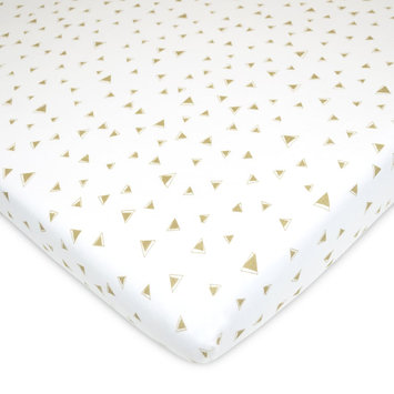 TL Care Patterned Jersey Knit Portable/Mini Crib Sheet, Multicolor One Size