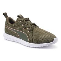 PUMA Carson 2 Metallic Women's Running Sneakers, Size: 8, Green