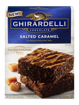 Ghirardelli Chocolate Premium Brownie Mix Salted Caramel