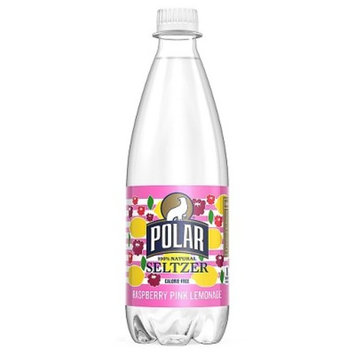 Polar Seltzer Raspberry Pink Lemonade 20oz