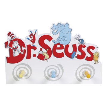 Trend Lab Dr. Seuss Friends Peg Wall Hook