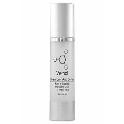 Vernal Skincare - Best Hyaluronic Acid Serum With Vitamin Vitamin C, A, D & E, Instant Firm, Pure, Undiluted - Anti Wrinkle Serum, Anti Aging - Highest Quality Hyaluronic Acid Serum, Potent Anti Aging Serum - Lifts and Firms Skin. Net Wt 2.0 oz/50ml