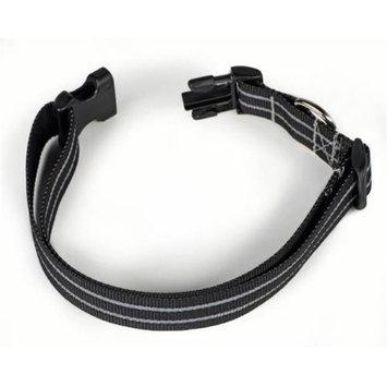 Starline Global Petflect Black Poly Two Stripe Reflective Collar
