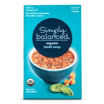 Organic Lentil Soup 17oz - Simply Balanced™