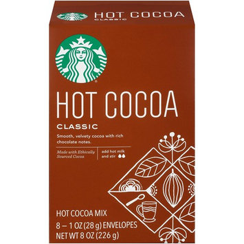 Starbucks Hot Cocoa (24-Count), Classic Mix, 1oz Packets