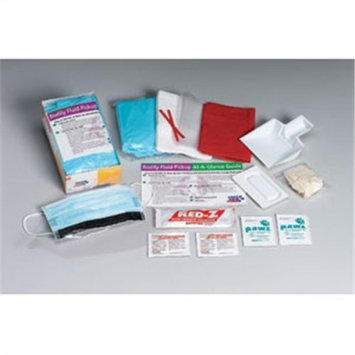 First Aid Only Bloodborne Pathogen Spill Clean Up Kit, Single Use (214-P)