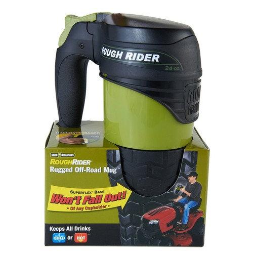 Good Vibrations - Rough Rider - 24oz Tractor Mug