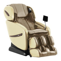 OSAKI Alpina SL Track Roller Design Massage Chair w/ 6 Massage Styles, Beige