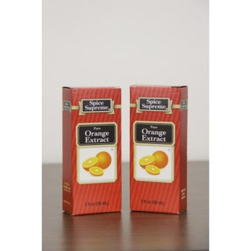 Pack of 24 Spice Supreme Pure Orange Extract 2 fl oz. #30980