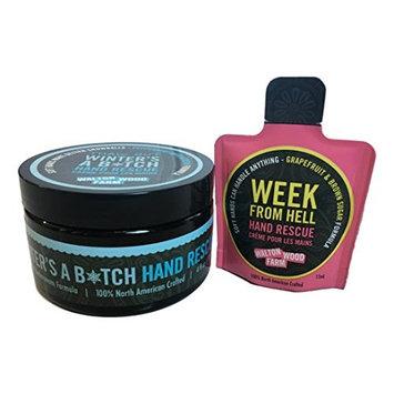 Walton Wood Farm Women Smell Pretty Bath Products with Mini Week from Hell Hand Rescue