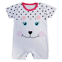StylesILove Cute Animal Baby Toddler Girl Costume Jumpsuit (80/6-12 Months, Bunny White)