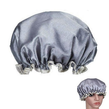 TKSTAR Shower Cap For Long Hair Waterproof with Double Layers Shampoo Spa Hair Shower Cap Terry Lined Hat for Kids Women Men