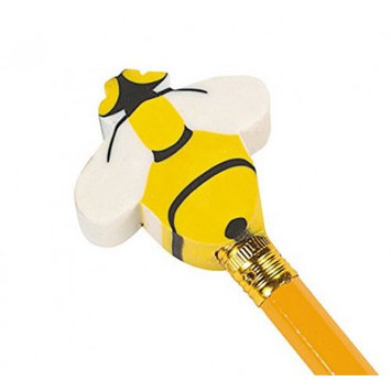 Oriental Trading Company Busy Bee Eraser Pencil Toppers (2 dz)