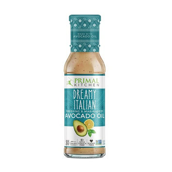 Primal Kitchen - Avocado Oil-Based Dressing and Marinade, Dreamy Italian, 8 oz, Whole30 and Paleo Approved [Dreamy Italian]