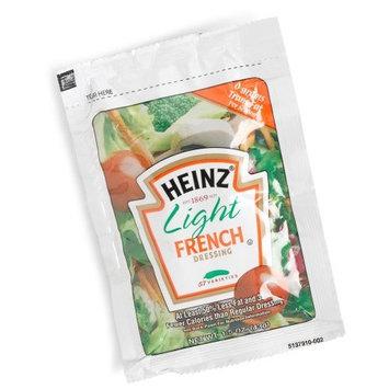 Heinz Light French Dressing, Single Serve, 1.5 oz. sachet, Pack of 60