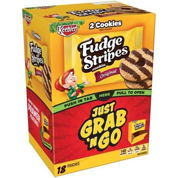 Kellogg Sale Company Keebler Fudge Stripes Original Cookies 18 Ct Caddies (Pack Of 4)