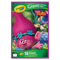 Dreamworks Trolls Giant Coloring Pages